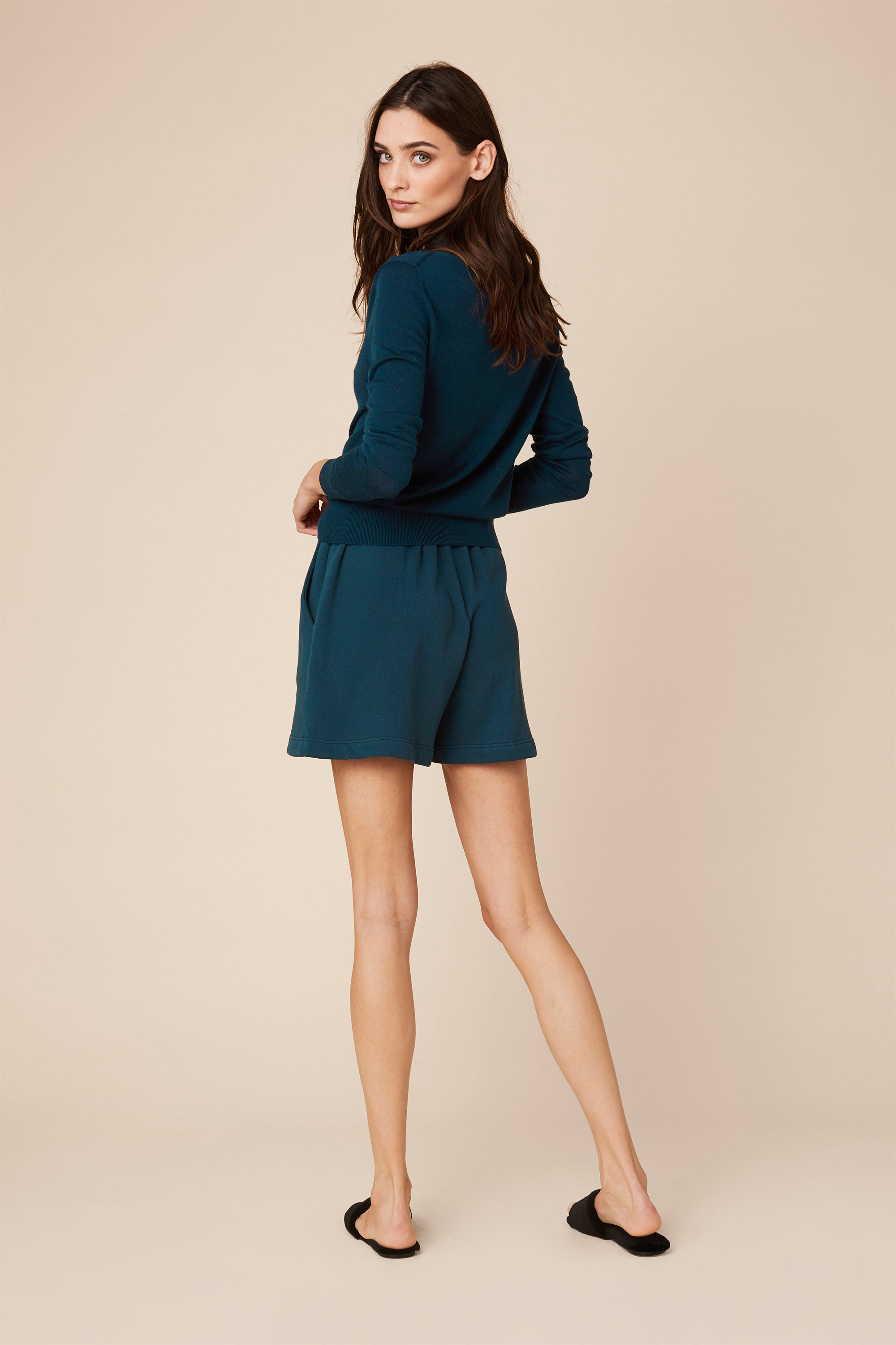 JULES FLEECE SHORT | TOPAZ