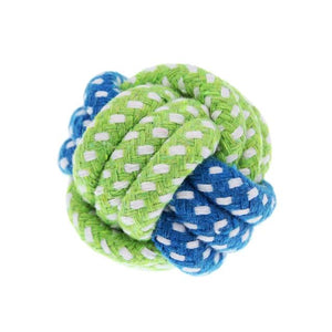 Cotton Dog Rope Toy - Furry Buddy