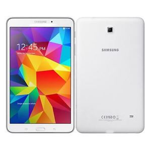 "NEW Samsung Tab 4 8"" With Cellular + Wifi Compatibility - Unlocked - White"