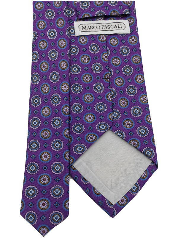 Courtly Medallions tie
