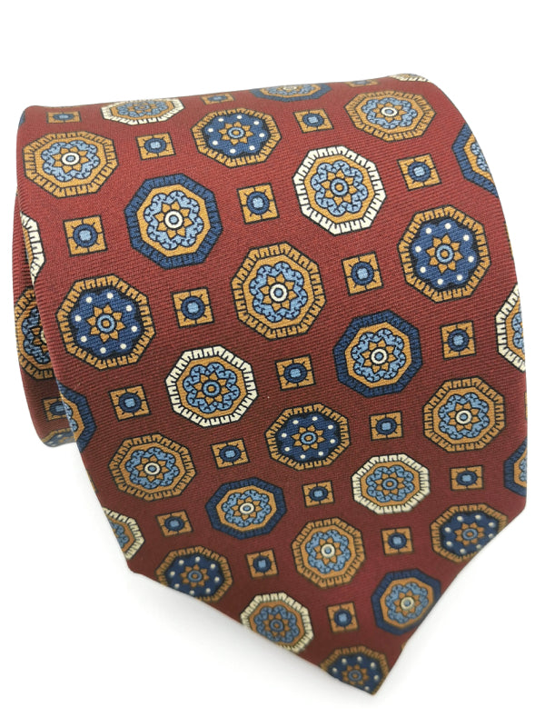 Regal Medallions Red Copper tie
