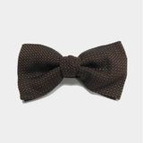 Sprinkled Brown Bow Tie
