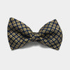 Golden Buttons Bow Tie