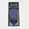 Butteflies in Blue Tie & Pocket Square Set