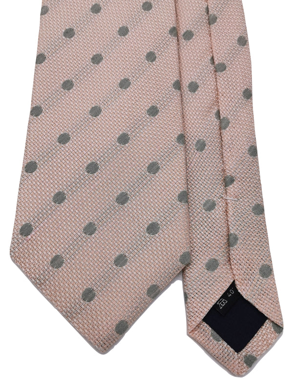 Grey Dots in Pink