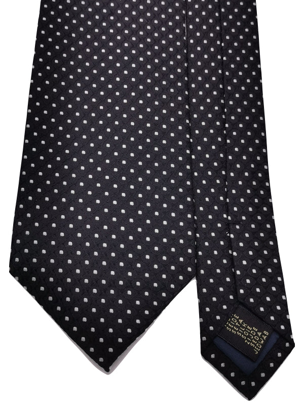 Enhanced Polka Dotted Tie