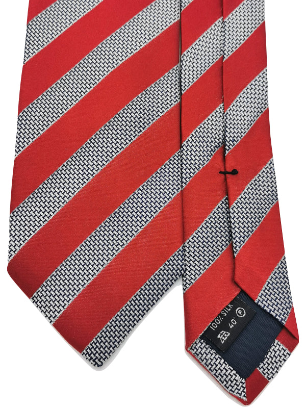 Red Regimental Tie