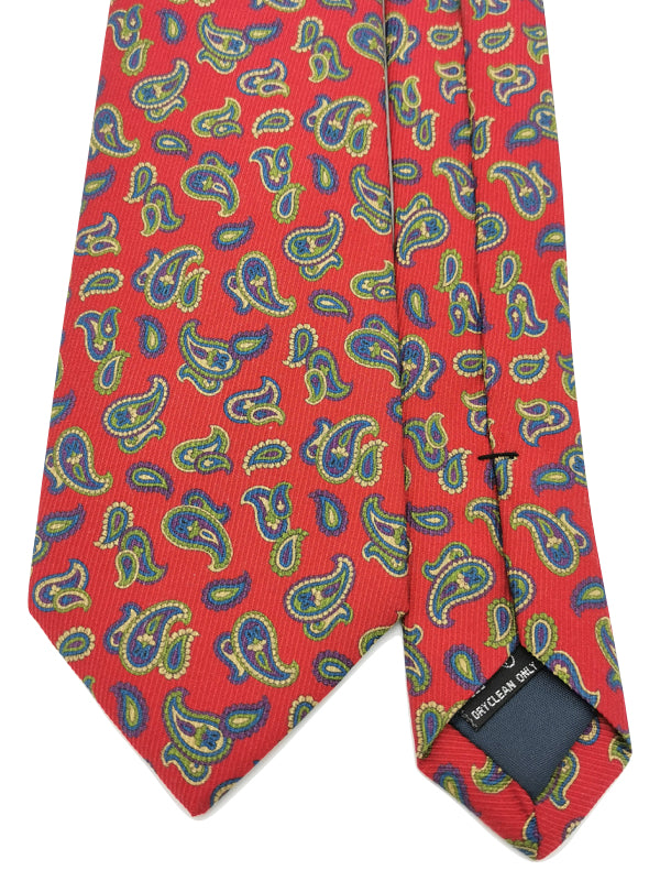 Classic Paisley Red tie