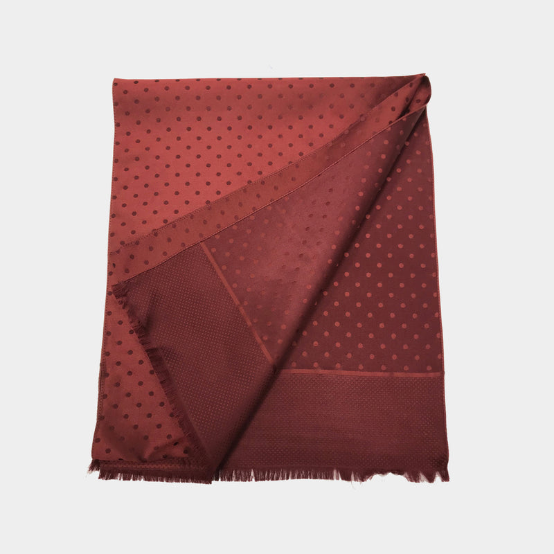 Red Wine Vintage Opera Scarf