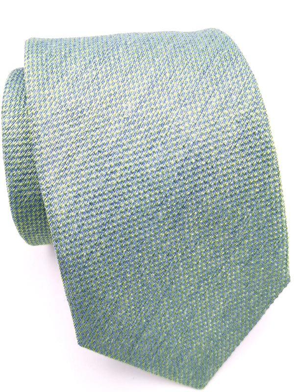 False plain weave in light green
