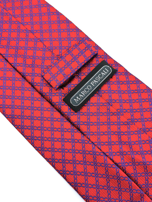 Infinite Cross Loops Red tie