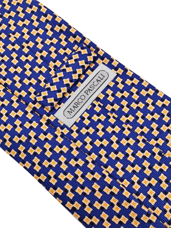 Geometry Synth Blue tie