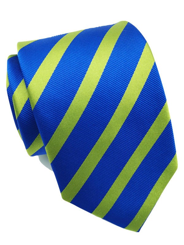 Lingering Lime Stripe tie days tie