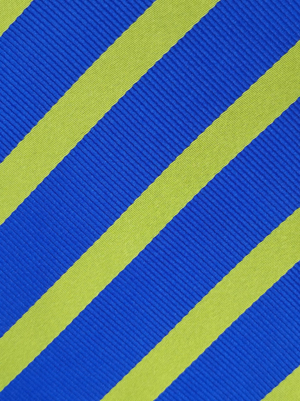 Lingering Lime Stripe tie fabric zoom