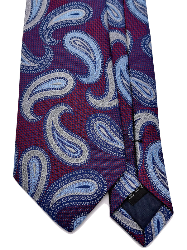 Paisley Rendezvous tie front blade