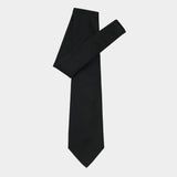 Black Silk Tie Affair