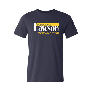 Connie Lawson for SOS USA Made Tshirt - Navy