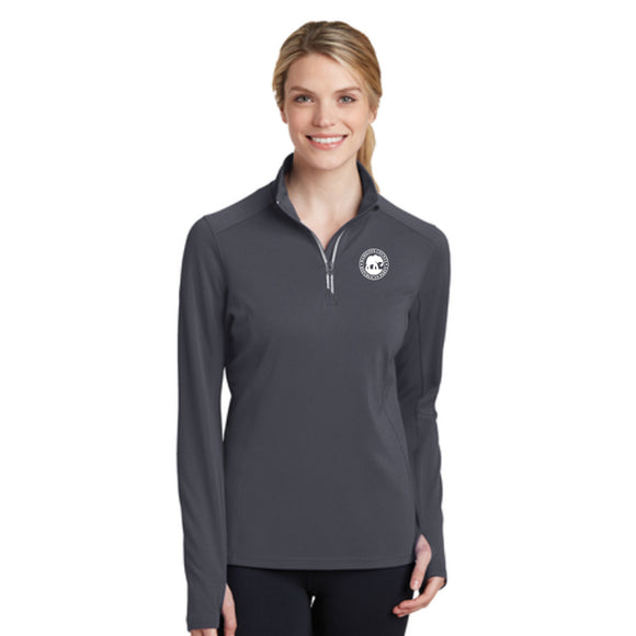 Hamilton County Ladies Textured 1/4 Zip Pullover