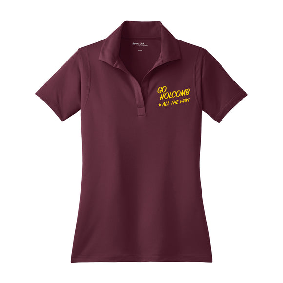 Go Holcomb Ladies Campaign Polo