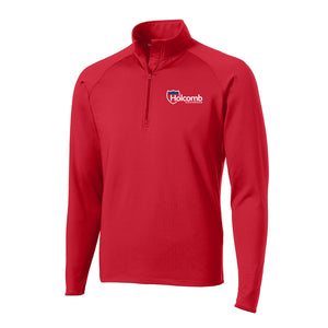 Holcomb Textured 1/4 Zip Pullover