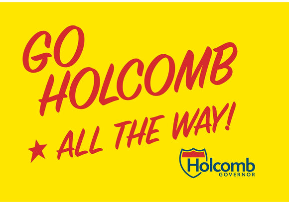 Go Holcomb Bumper Sticker