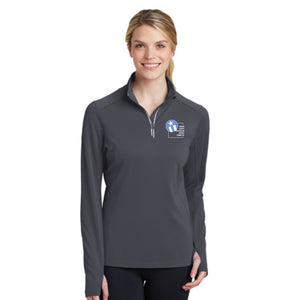 Indy Republican Ladies Textured 1/4 Zip Pullover
