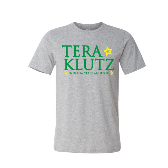 Tera Klutz for Auditor Tshirt Heather Grey
