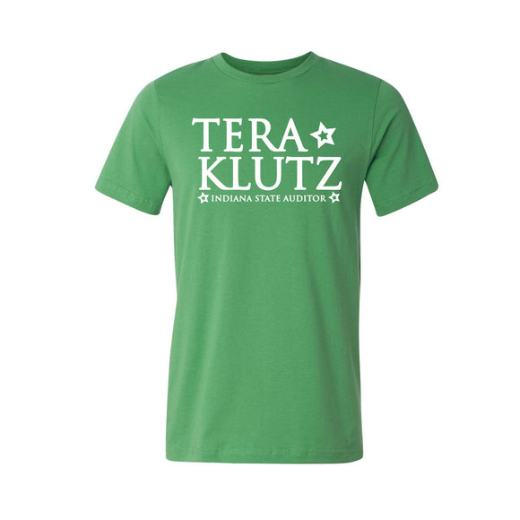 Tera Klutz for Auditor Tshirt - Green