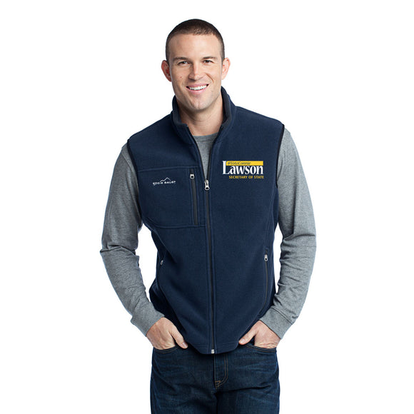 Lawson for SOS Eddie Bauer Fleece Vest - Navy