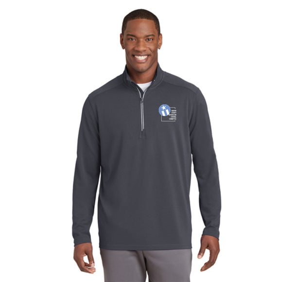 Indy Republican Textured 1/4 Zip Pullover