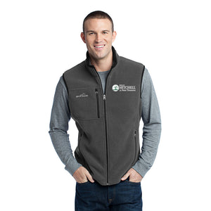 Mitchell for Treasurer Eddie Bauer Fleece Vest - Grey