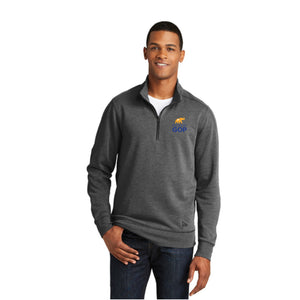 New Era 1/4 Zip Performance Pull Over