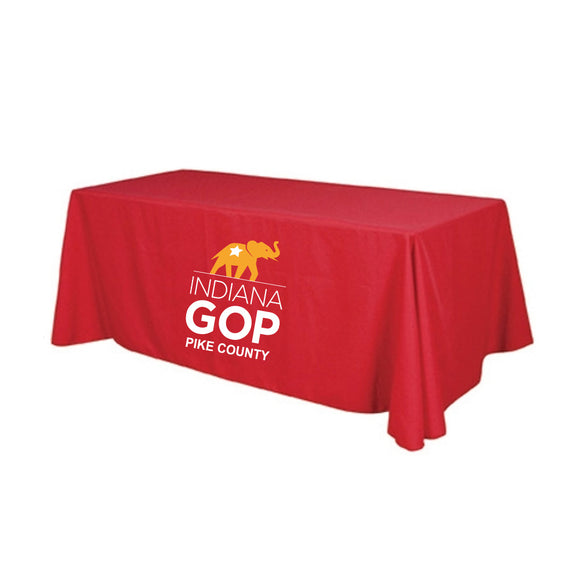 Pike County Econmony 8' Table Throw