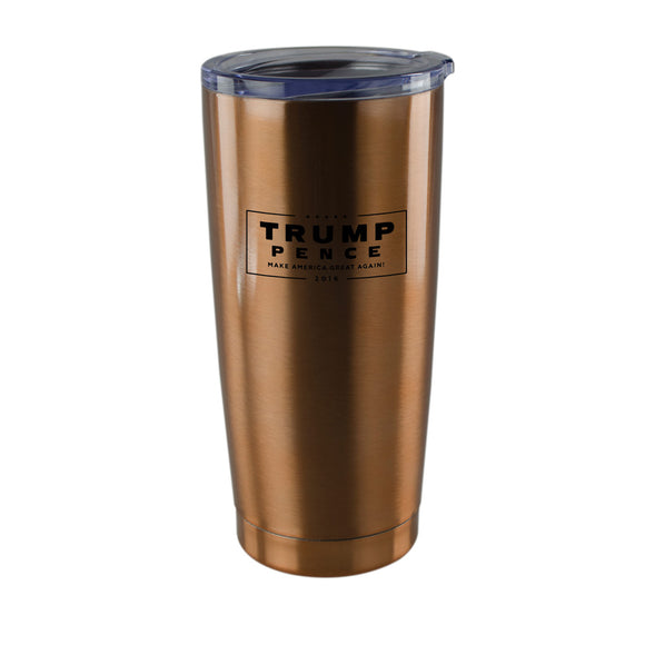 Trump Pence Copper Tumbler