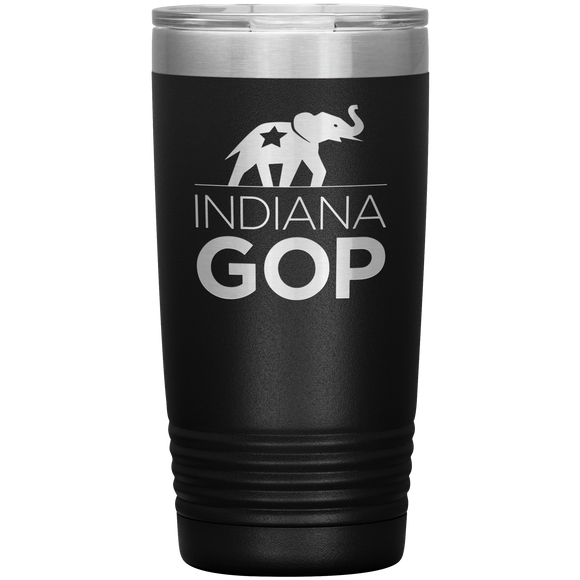20oz Indiana GOP Tumbler