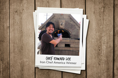 Chef Edward Lee, Iron Chef America Winner