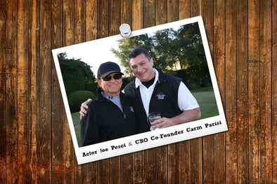 Actor Joe Pesci & CBO Co-Founder Carm Parisi