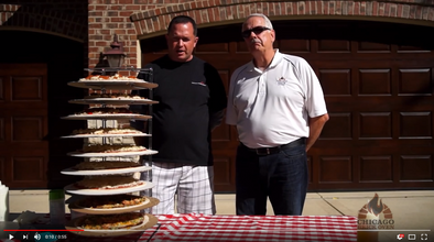 VIDEOS: Pizza is Always a Party with Chicago Brick Oven