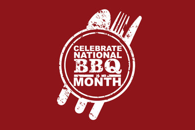 WE'RE CELEBRATING NATIONAL BARBECUE MONTH