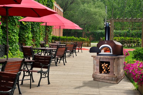 chicago brick oven authentic wood fired outdoor pizza oven