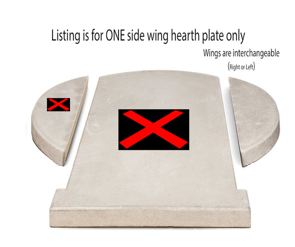 CBO 750 SIDE WING HEARTH