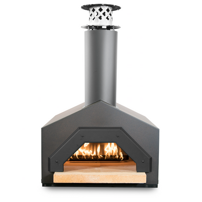 CBO-Americano Countertop Wood Burning Pizza Oven front view
