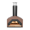 CBO-Americano Countertop Wood Burning Pizza Oven in terra cotta