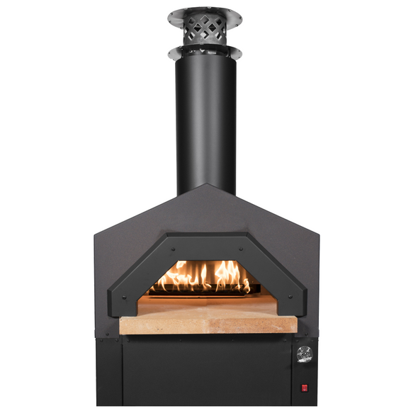 CBO-Americano Hybrid Countertop Gas Pizza Oven in dark roast
