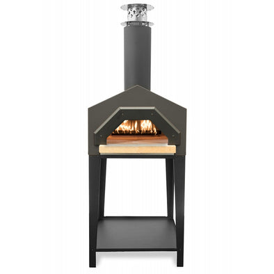 CBO-Americano Stand front view wood fired oven