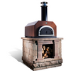 CBO-500 Countertop Wood Burning Oven  angle view