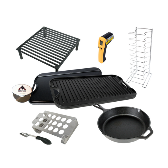 Outdoor Cooking Essentials Accessories Package