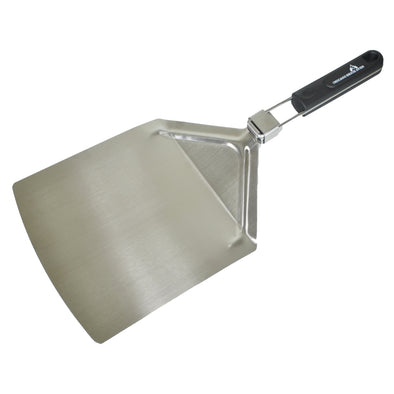 "Foldable Pizza Peel (9.5"" x 13"") - Stainless Steel, Black Anodized"