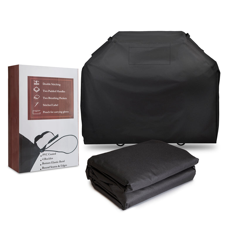 XL BBQ Barbeque Gas Grill Cover w/Buckles & Handle Straps