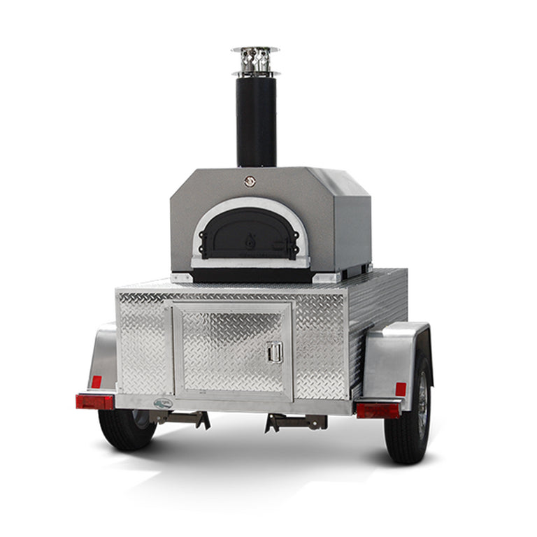 CBO-750 Tailgater Mobile Pizza Ovens front view